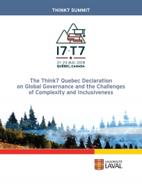 Think7 Quebec Declaration on Global Governance and the Challenges of Complexity and Inclusiveness (covert)