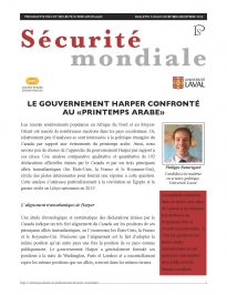 Securite-mondiale-60-Le-gouvernement-Harper-et-le-printemps-arabe